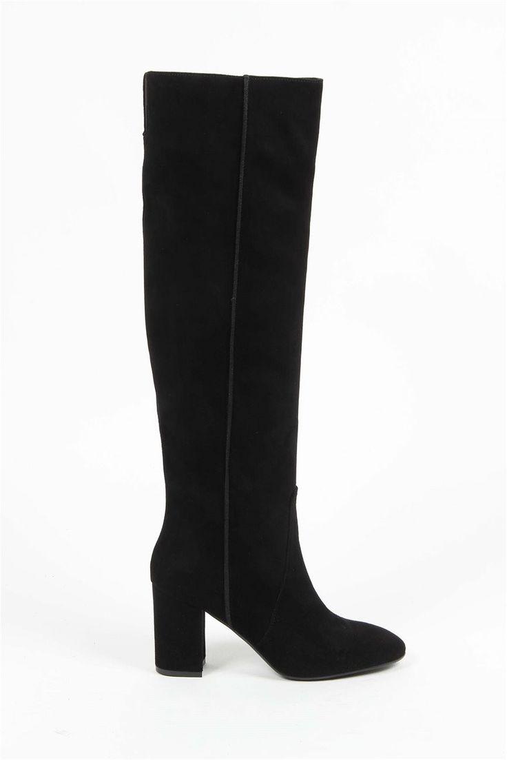 Versace 19.69 Abbigliamento Sportivo Srl Milano Italia High Boot G051X CAMOSCIO NERO  #Versace #Dior #designer #Guess #hautemilan #armani #prada #beautiful #louboutin #Valentino