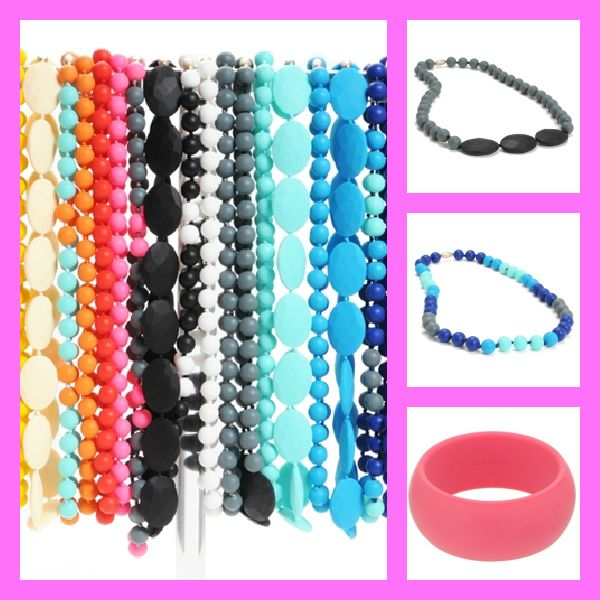 Fashionable and chewable jewelry for momsGift, Teeth Baby, Chewbeads, Jewelry, New Mom, Chew Beads, Products, Teeth Necklaces, Teething Babies