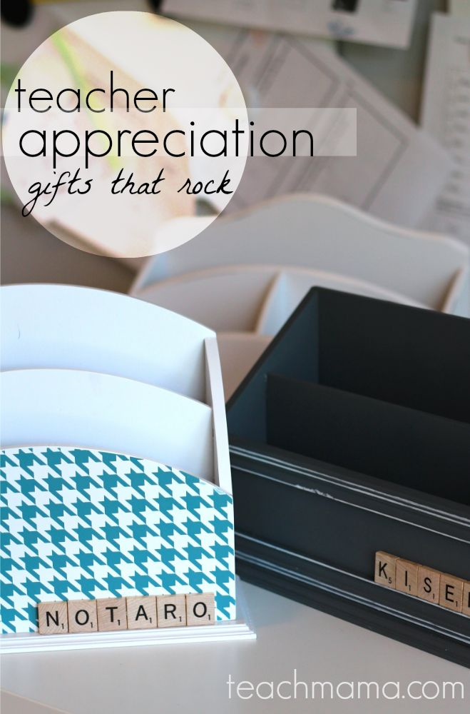 quick, cool teacher appreciation gifts | teachmama.com: Teacher Gifts, Ideas For Gifts, Gifts Ideas, Teacher Appreciation Gifts, Clever Ideas, Great Ideas, Gifts Parties, Class Gifts Projects, Kid