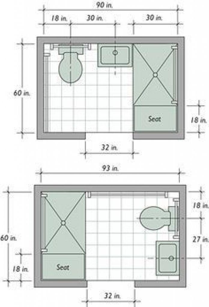 4 X 6 Bathroom Layout Google Search Small Bathroom Floor Plans Small Bathroom Layout Bathroom Dimensions