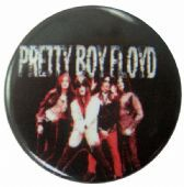 Pretty Boy Floyd - 'Group Black' Button Badge