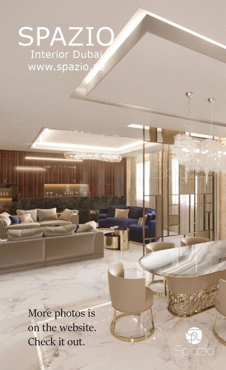 Villa Interior Design In Dubai Luxury Living Room House Interior Interior