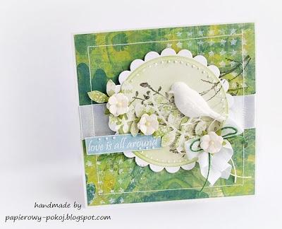 papierowy pokój: Wiosna w zieleni