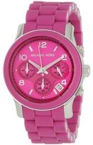 Michael Kors Watch  $182.22 (US$195)  Michael Kors Sporty Chrono Watch 39mm Case Diameter Water Resistant to 330 Feet Available in Fuschia: Bags Michaelkors Bags, Michaelkor Shops Eu Tf Mk, Style, Mk Bags Michaelkor Bags, Watches Michael Kors, Michael Kors Watches, Jewelry, Sports Chronograph, Pink Watches