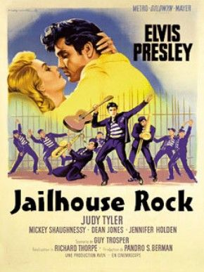 Rock and Roll movies | Prisioneiro do Rock and Roll (Jailhouse Rock) - Poster / Capa ...
