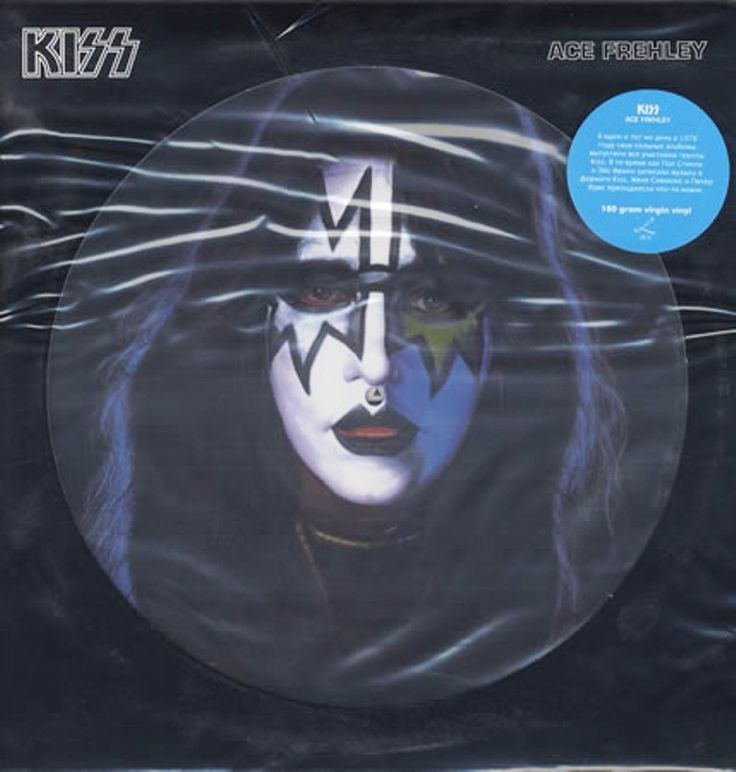 Ace Frehley Kiss Ace Frehley Picture Disc Vinyl 180