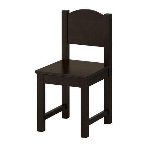 SUNDVIK Kinderstoel, zwartbruin zwartbruin -