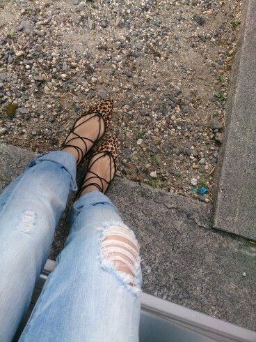 Leopard lace up flat !! #leopardlaceupflat #laceupflat #laceupshoes