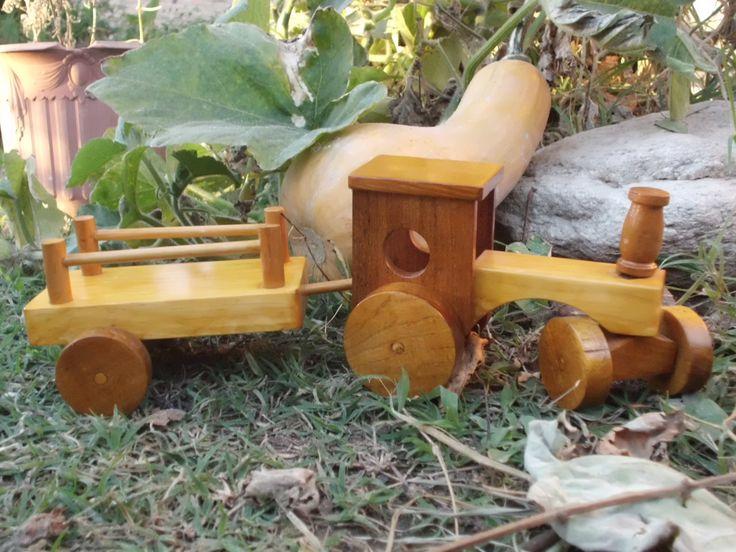 tractor con carro https://www.facebook.com/MapeJuguetes