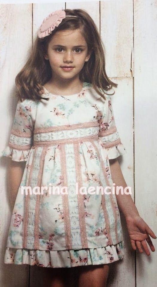 Lindo, #Coqueto y fresco #Vestido del #Verano  Marina Laencina                                                                                                                                                                                 Más