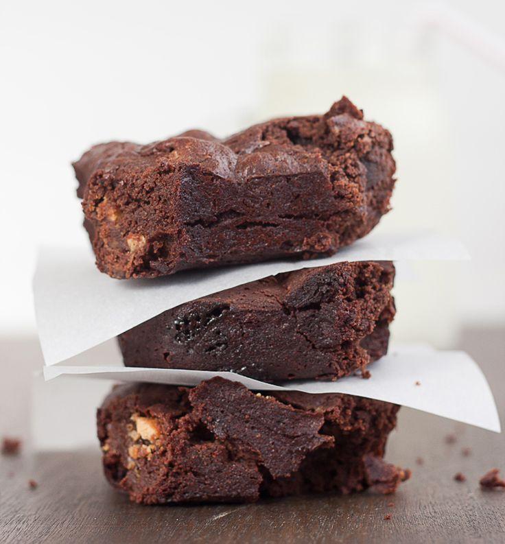 Anna Olson's triple chocolate brownie recipe is the only brownie recipe you need | www.pickytoplenty.com