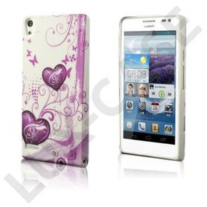 Symphony (Pink Hjerte) Huawei Ascend P6 Cover