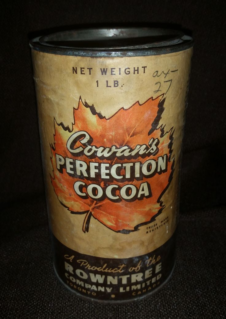Antique 1920s Rowntree Cowan's Perfection Cocoa Tin https://treasurevalleyantiques.com/products/antique-1920s-rowntree-cowans-perfection-cocoa-tin #20s #Beverages #SweetChocolateCocoaHeaven #Delicious #WarmDrink
