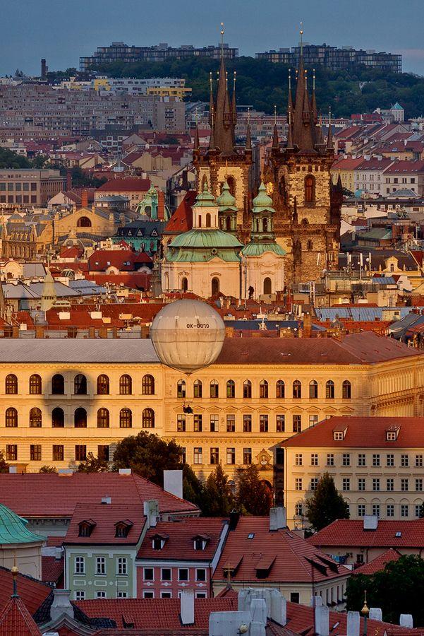 """500px / Photo """"Golden Prague"""" by Tomas Megis"""