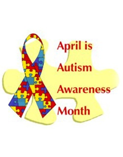 Autism Awareness: Fundrai Events, Autism Awareness, Autism Months, April, Autism Asperger, Color, Teaching Activities, Awareness Months, Awareness Ribbons
