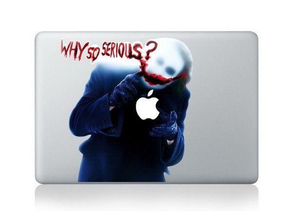 Funny Joker Laptop Skin Macbook Air And Macbook Pro DC World Shop http://dcworldshop.com/funny-joker-laptop-skin-macbook-air-and-macbook-pro/    #suicidesquad #superhero #dcuniverse #bataman #superman