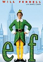 Elf  DVD ELF This hilarious Christmas film tells the tale of a young orphan child who mistakenly crawls into Santa's bag of gifts on Christmas Eve and is transported back to the North Pole and raised as an elf. Years later Buddy learns he is not really an elf and goes on a journey to New York City to find his true identity.