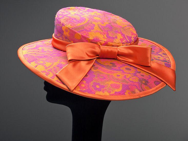 hoed in brokaat zijde (030)