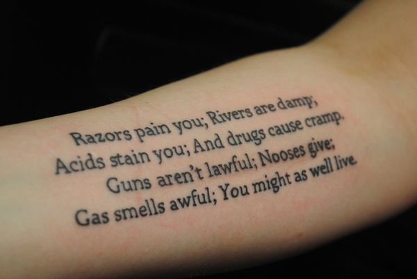 A reminder and a very cool tattoo this was in girl for Still breathing tattoo