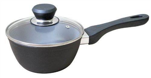 Strauss Green Cuisine 2 Quart Saucepan with Non Stick Ceramic Coating