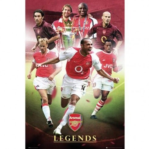 Arsenal F.C. Poster Legends 79