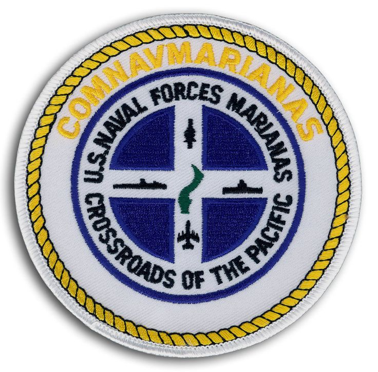 US NAVY NAVAL FORCES MARIANAS COMMANDER CROSSROADS OF THE PACIFIC