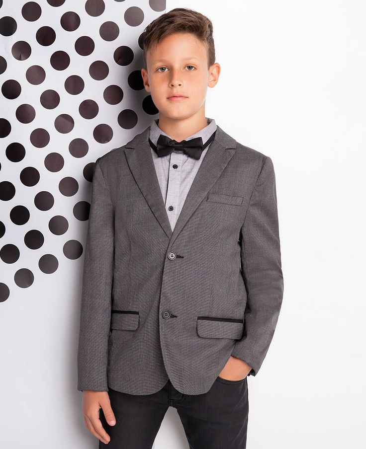 Boy's Jasper Suit Jacket - Bardot Junior
