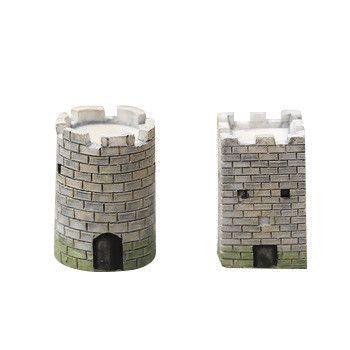 Enfeites de resina Artesanato Do Vintage Mini Modelo Castelo De Fadas Jardim Miniaturas Casa de desktop/Suculentas/Micro Paisagem Decoração