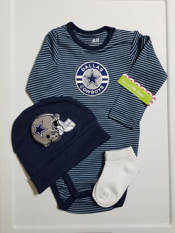 Dallas Cowboys Baby Outfit Dallas Cowboys Baby Shower Gift Dallas Cowboys  Take Home Baby Cowboys Dallas Cowboys Newborn/baby Dallas Cowboys