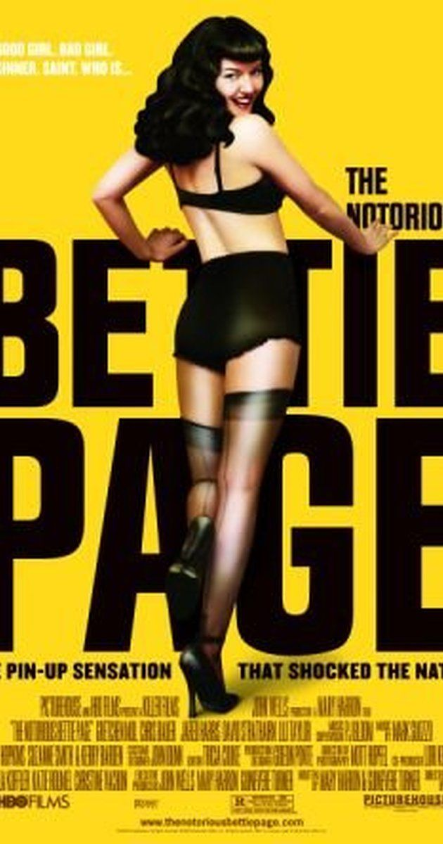 Directed by Mary Harron.  With Gretchen Mol, Lili Taylor, Chris Bauer, Jared Harris. The life of Bettie Page, a 1950s pin-up model and one of the first sex icons in America, who became the target of a Senate investigation due to her risqué bondage photos.