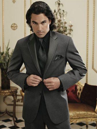 Jean Yves Twilight Tuxedo In Steel Grey