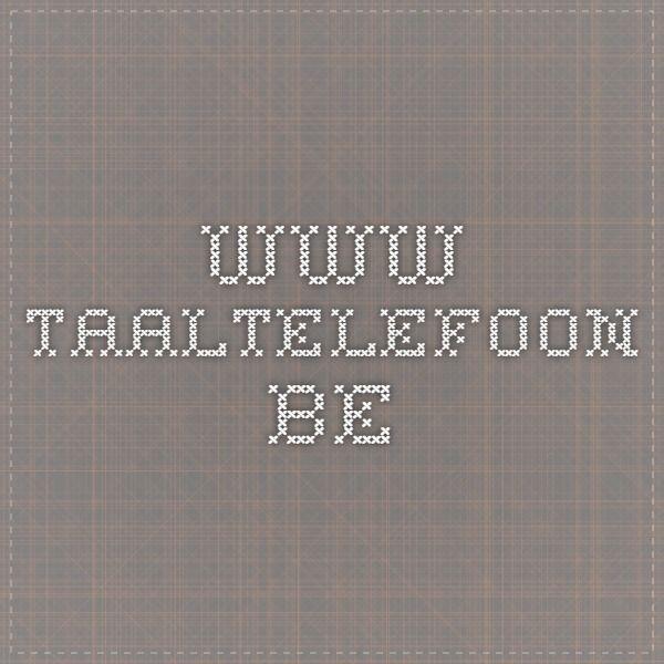 www.taaltelefoon.be