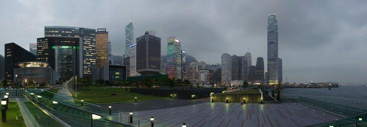 Hong Kong. Tamar Park at evening. by Mikhail Mashikhin on 500px