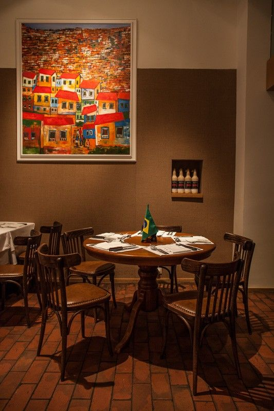 Basic Collection, Casabrasil Budapest #restaurant #furniture #design #interior #contract #casabrasil #budapest #leather #chair #dining #table #wood photo: Zsolt Batár