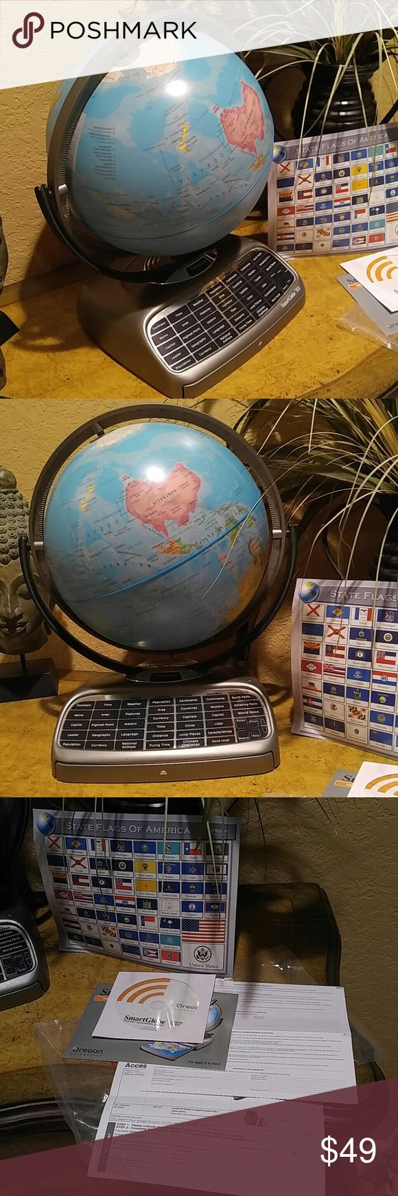 Selling this REDUCED! BACK 2 SCHOOL  Scientific Smart Globe on Poshmark! My username is: gwen10514. #shopmycloset #poshmark #fashion #shopping #style #forsale #Oregon Scientific #Other