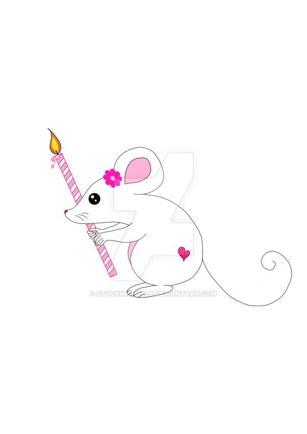 Mouse Pink Candle by stockmichelle.deviantart.com on @DeviantArt