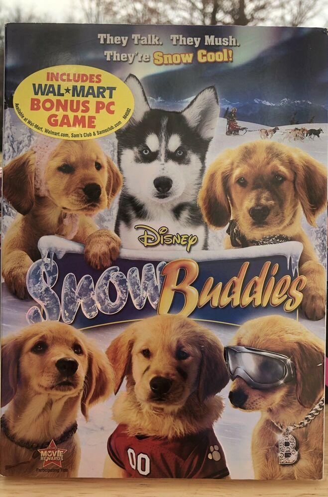 Snow Buddies Dvd 2008 Dvds For Sale Buddy Disney Movies