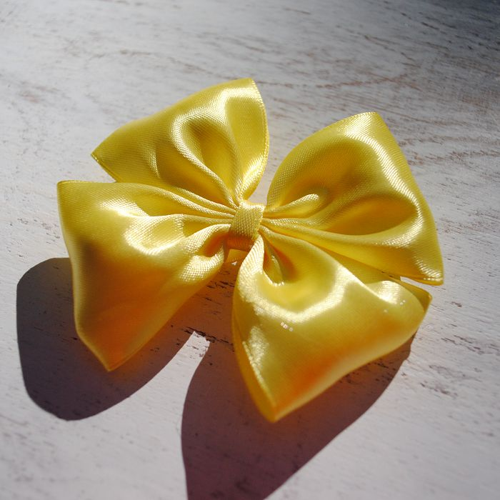 Happy Moment. Желтый  http://sun-bow.ru/banty/happy-moment/yellow/  #bow #SunBow #SPb #hairbow #hairstyle #бант #бантик #заколка #заколкадляволос #желтый