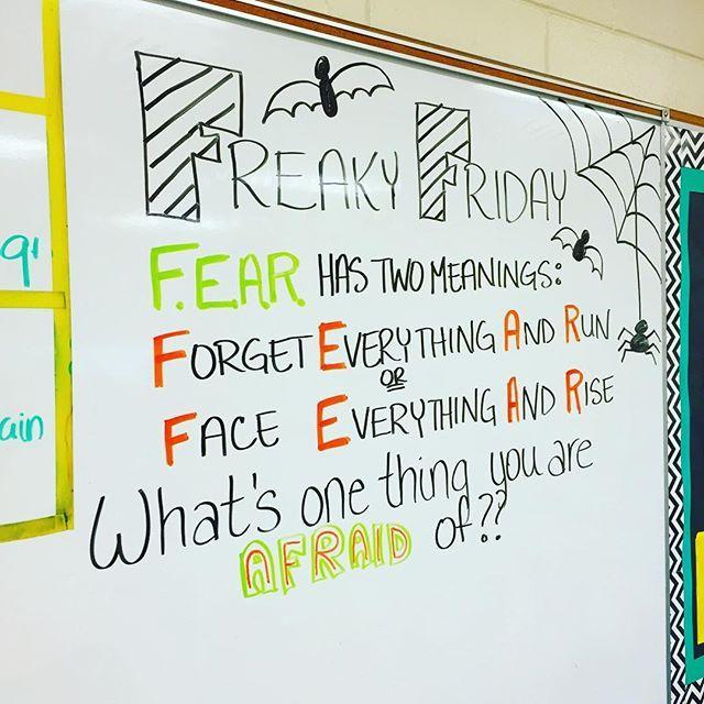 Freaky Friday!! Moths, definitely moths...also ticks! #iteach7th #iteachtoo #teachersofinstagram #teachersfollowteachers #miss5thswhiteboard