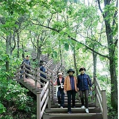 Path in Nakdong riverside
