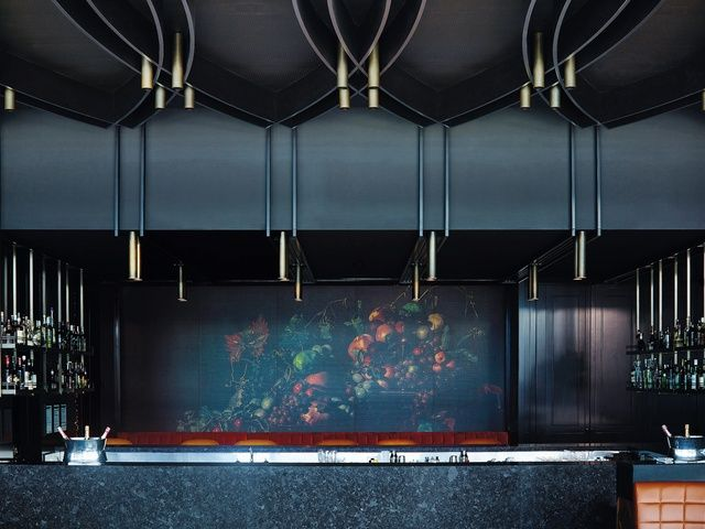 The Fat Duck's time in Melbourne may be over but Bates Smart has transformed the space into Dinner by Heston Blumenthal, a permanent restaurant at Crown Melbourne inspired by historic British gastronomy.
