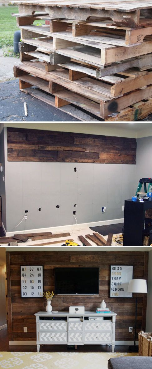 Pallet Wall.