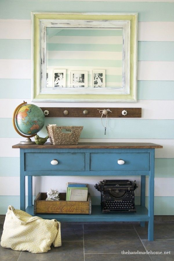 ana white's hutch from her fabulous book, and the fun process behind it, in our style.