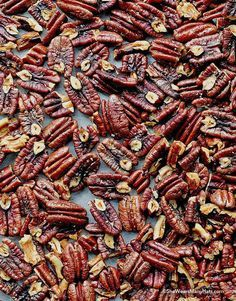 Roasted Pecans are irresistible nutty goodness that is perfect for appetizers, snacks or sharing as an edible gift.