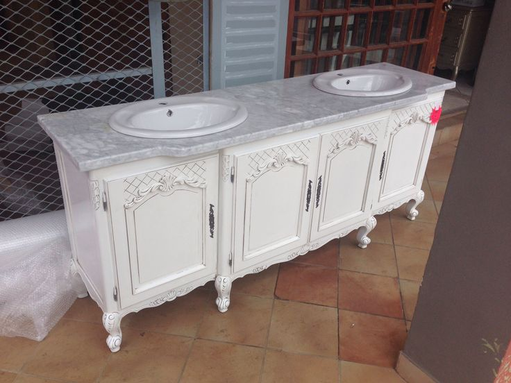 Stunning custom made double vanity