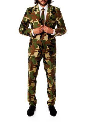 Opposuits Men's Commando Camo Suit - Multi - 52 Regular