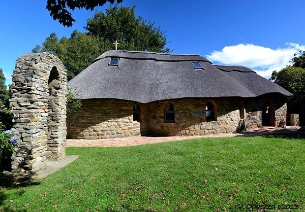 One of the sweetest little chapels I've ever seen, St Patricks on the Hill in Hogsback, South Africa. http://geogypsytraveler.com/wp-content/uploads/2013/08/13-4062-Stone-arch-chapel-St-Patricks-on-the-Hill-Hogsback-SA-pano-1024x714.jpg