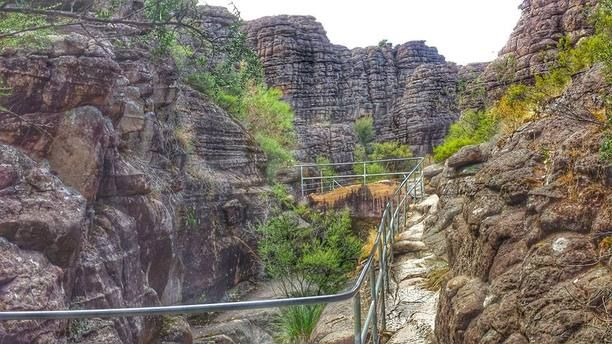 Grampians National Park, Halls Gap, Australia — by Caz and Craig @yTravelBlog. If you only do one walk in the Grampians National Park, make it the Pinnacles. You walk amongst incredible rock...