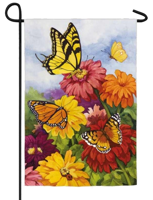1000 Images About Butterfly House And Garden Flag On