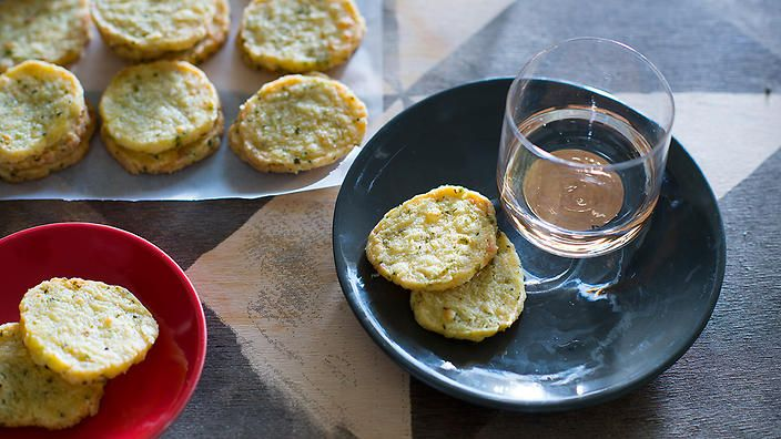 Sour cream and chive biscuits | Biscuits recipes | SBS Food